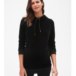 ❤️GAP Velour Velvet Hooded Zip Up NWT $98!